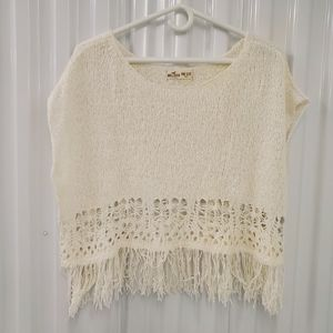 Hollister One Size Cover Up Knit Top